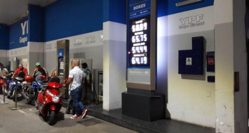 YPF incrementó sus precios en un porcentaje mínimo