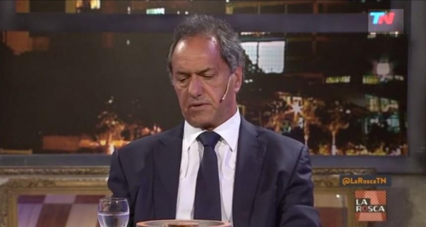 Scioli renunció a su banca como diputado