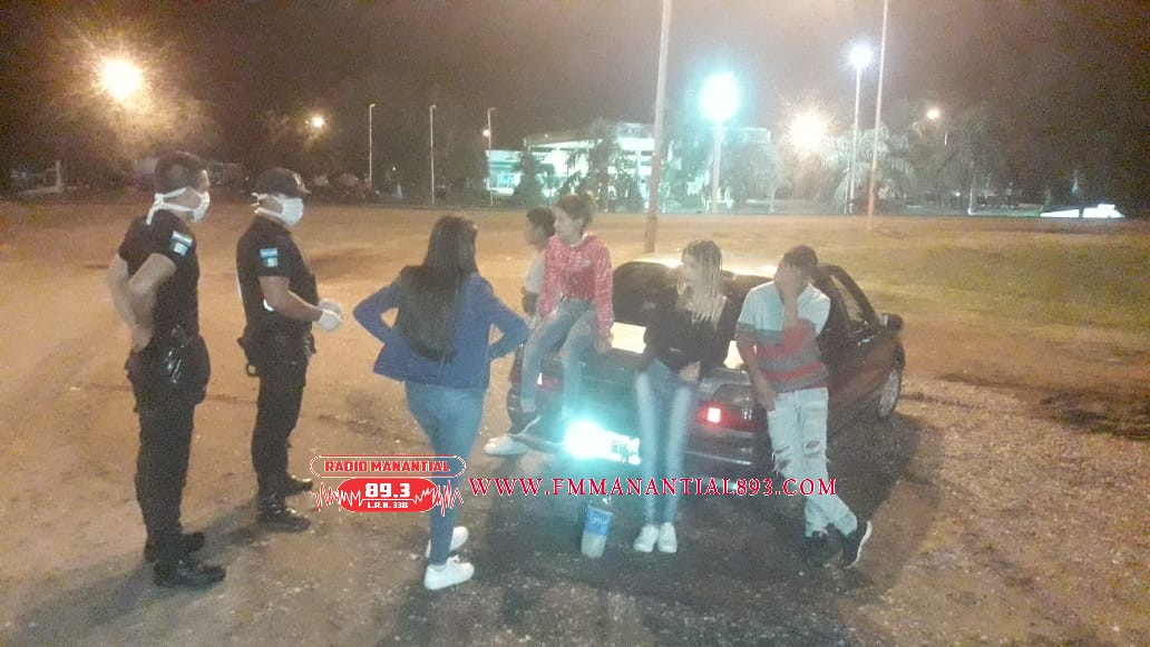Villa Angela:GRAN OPERATIVO POLICIAL, RESTRINGEN CONCENTRACIÓN DE PERSONAS EN ESPACIOS  PUBLICOS