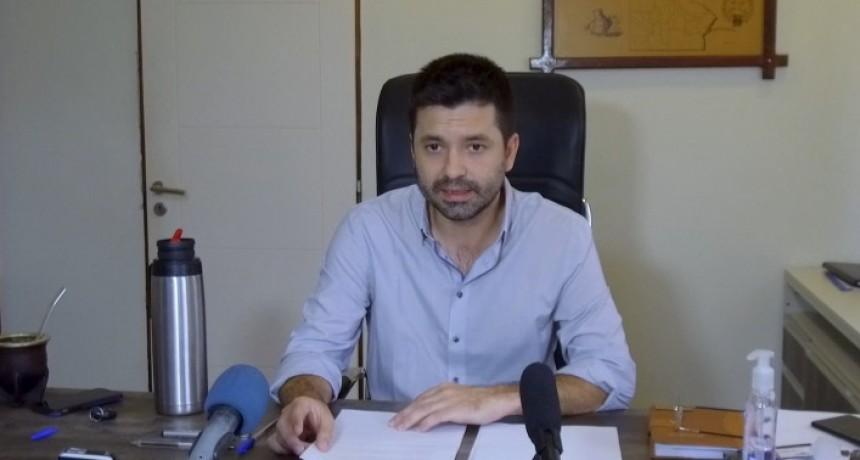 Sáenz Peña anuncia el cierre de comercios que no provean alimentos, fármacos o combustibles