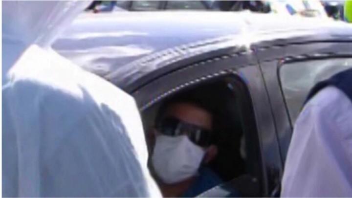 Insólito: frenaron a un conductor en la Ruta 2 que viajaba con 38,5° de fiebre y estuvo en contacto con extranjeros