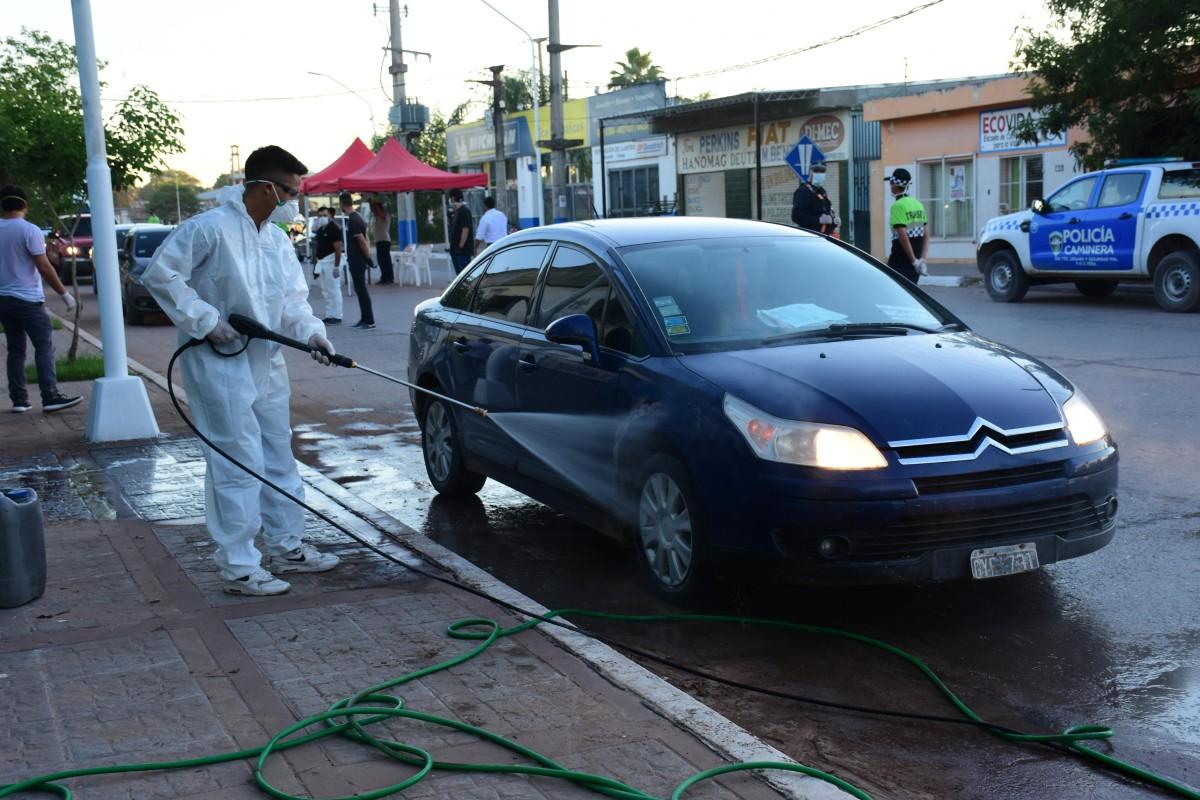 El municipio de Sáenz Peña trabaja junto a la policía en control del acceso a la ciudad