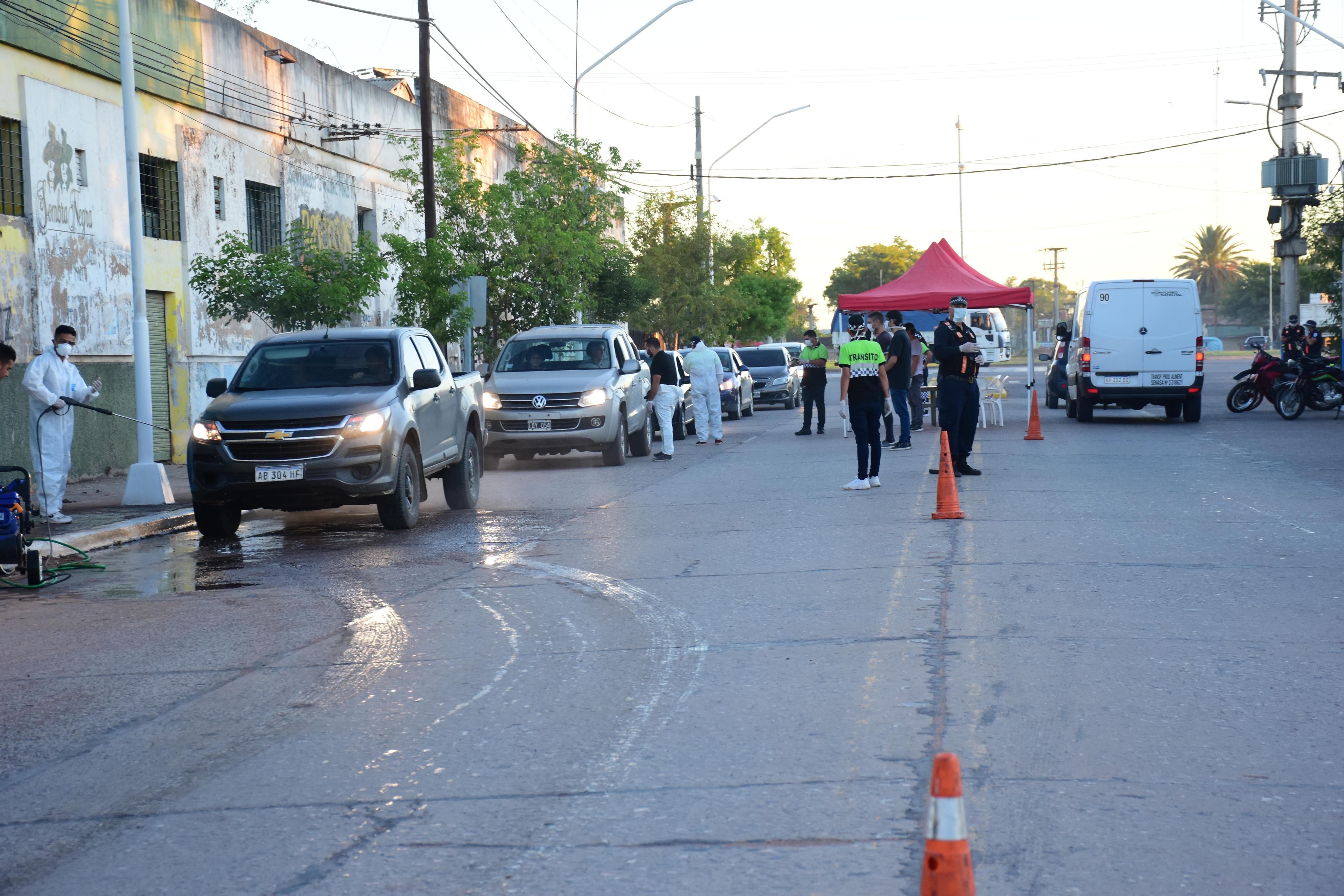 Saenz Peña:Se detectó un caso de Dengue en los operativos de control y prevención en el acceso de ruta 16 y calle 12