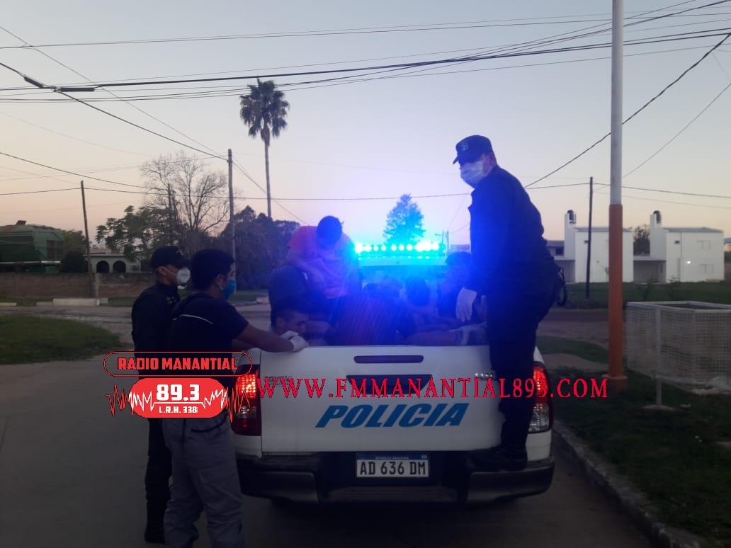 VILLA ÁNGELA: PERSONAL POLICIAL INFORMA DE UN CASO PROBABLE DE (COVID-19) EN EL SALVADOR MAZZA