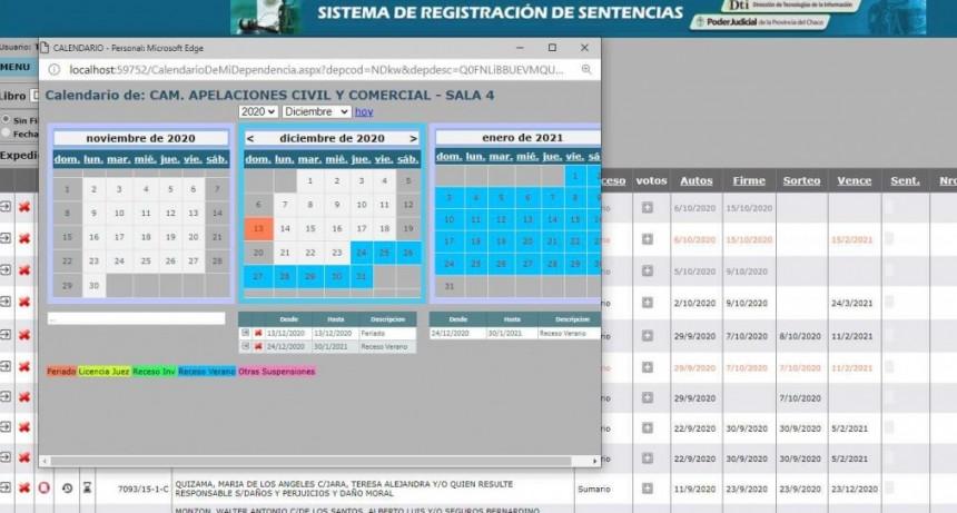 Desde el 1 de abril implementan registro digital de sentencias