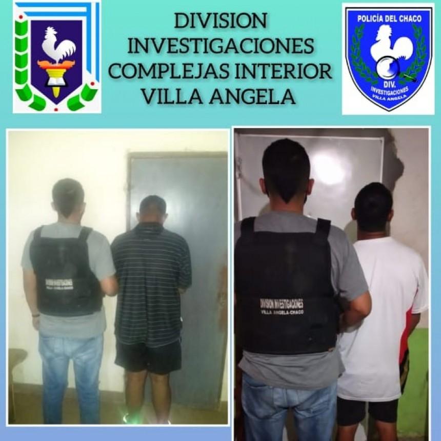 Villa Ángela: DETIENEN A DOS PERSONAS ACUSADOS DE ROBO CON ARMA