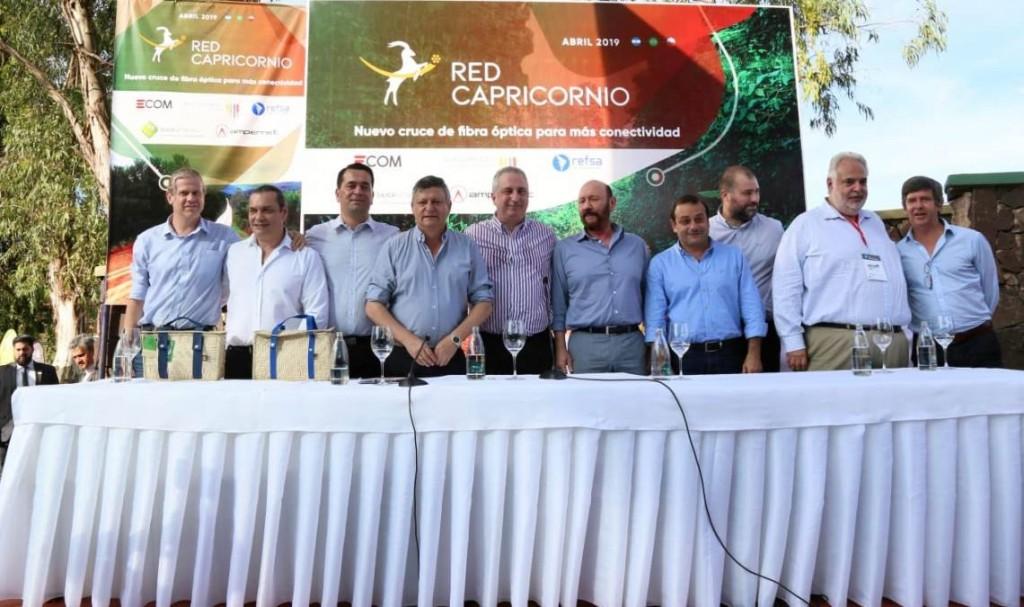 Lanzaron la Red Capricornio para mejorar Internet en el NEA