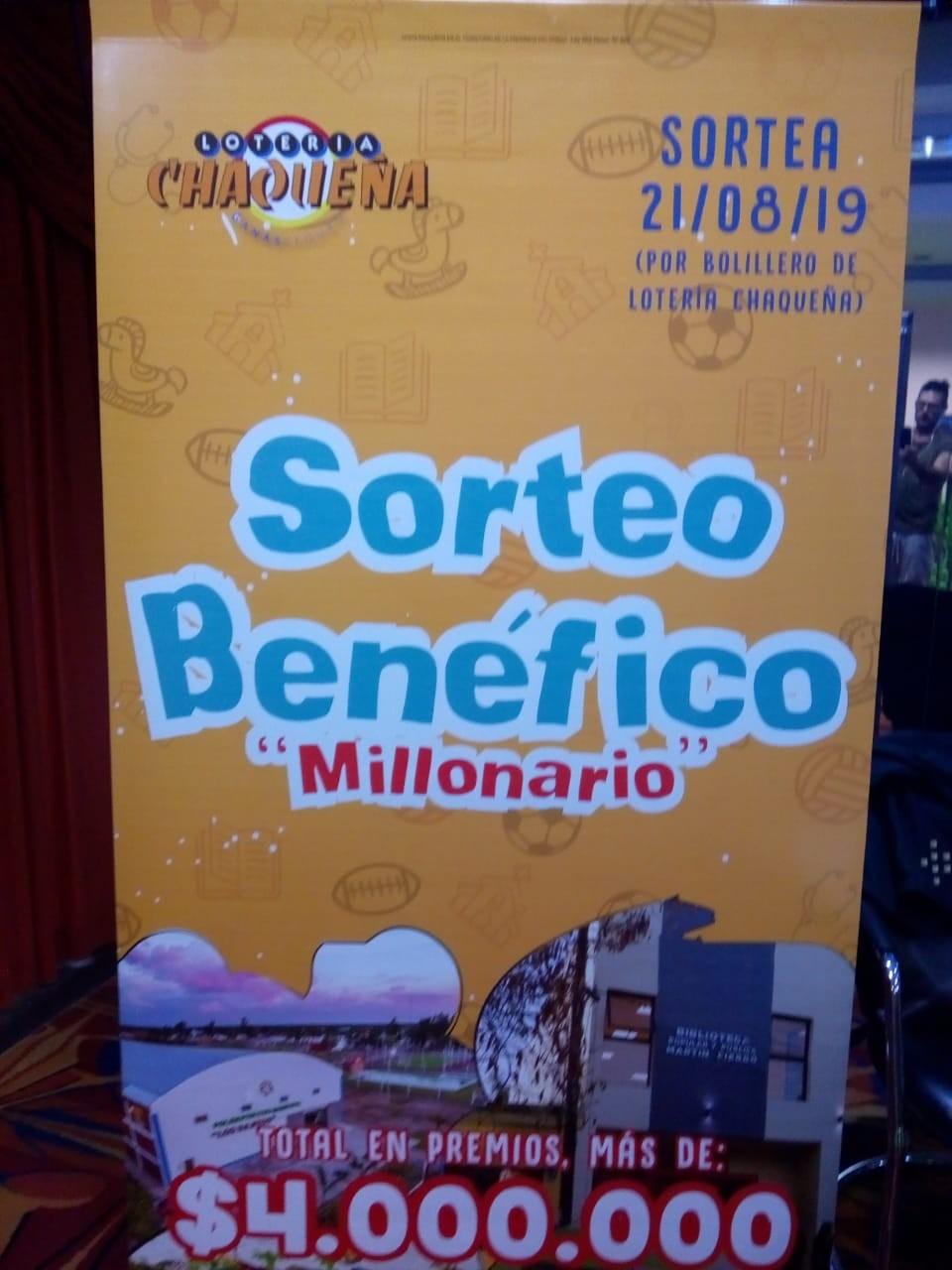 Presentación Oficial del tradicional Bono Benéfico destinado a las instituciones sin fines de lucro