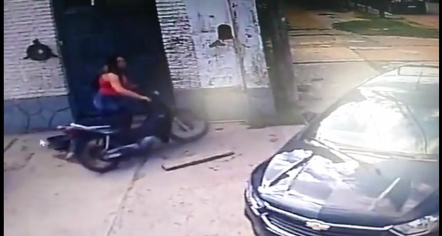 Robo en Villa Angela Denuncian por las redes el Robo de un Ciclomotor y de Campana un Inspector Municipal