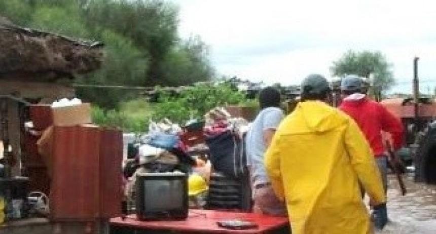 Tragedia en Las Breñas: Padre e hijo murieron electrocutados durante el temporal