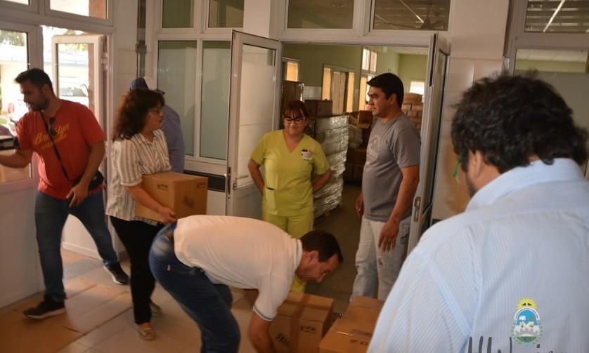 Concejales de Sáenz Peña donaron insumos al hospital local