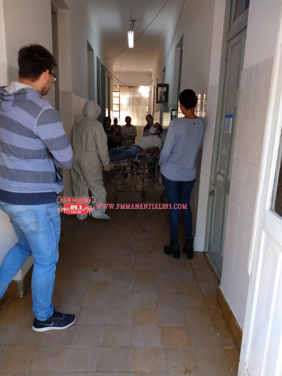 Villa Ángela: SE REALIZO UN SIMULACRO DE INGRESO DE PACIENTES CON CORONAVIRUS EN EL HOSPITAL LOCAL