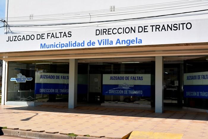 VILLA ÁNGELA: LAS OFICINAS DE TRÁNSITO MUNICIPAL ABREN SUS PUERTAS ESTE MIÉRCOLES 22 DE ABRIL