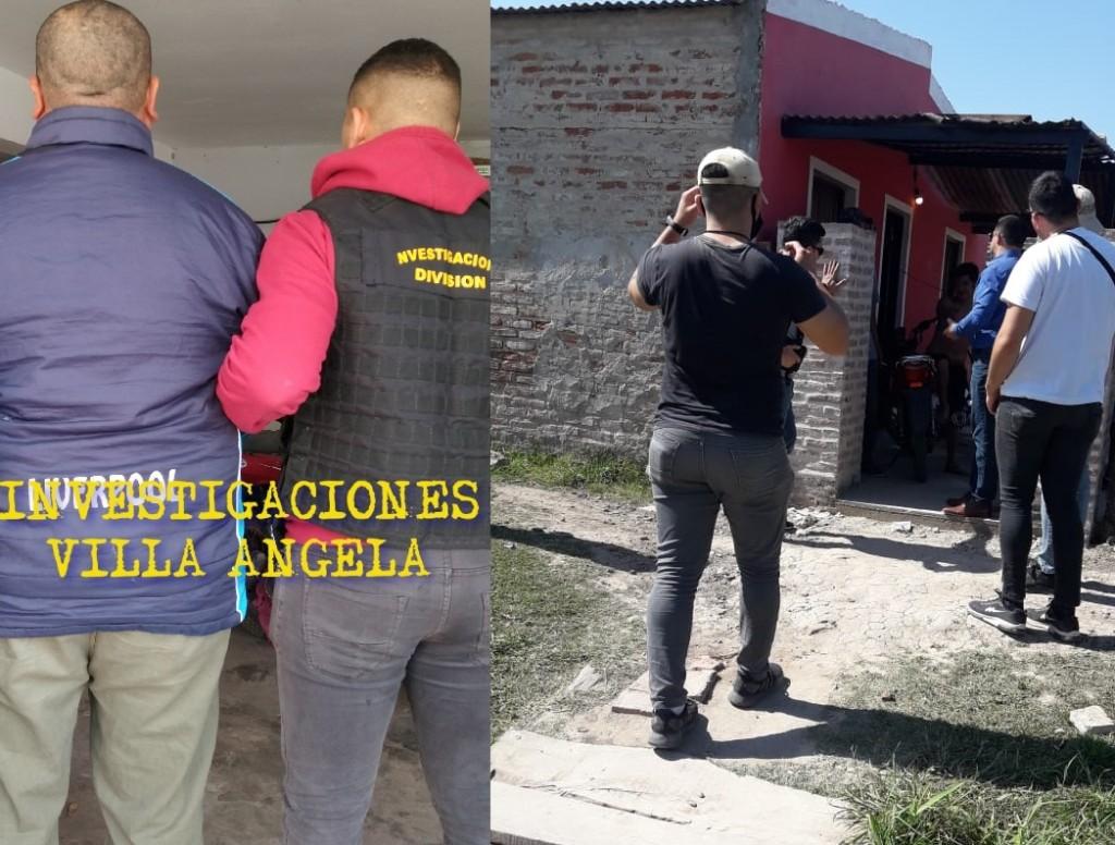 VILLA ÁNGELA: DESDE AYER TENÍA PRISIÓN DOMICILIARIA, HOY FUE DETENIDO POR VIOLARLA Y POR EL ROBO DE $6000 PESOS.