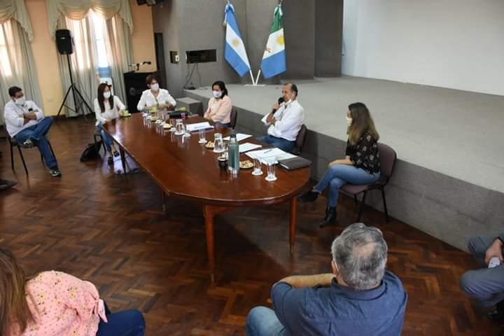 ADALBERTO PAPP RECIBIÓ A LOS INTENDENTES DE LA REGIÓN PARA PROYECTAR ACUERDOS A NIVEL LOCAL