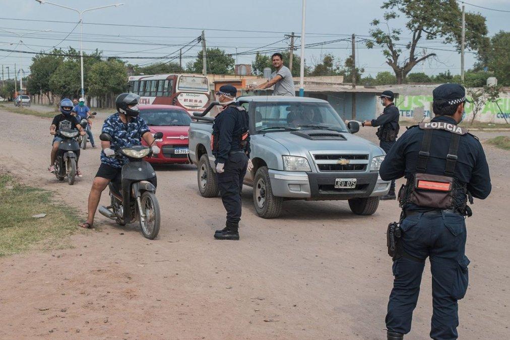 Más de 5 mil detenidos en el Chaco por no cumplir el aislamiento