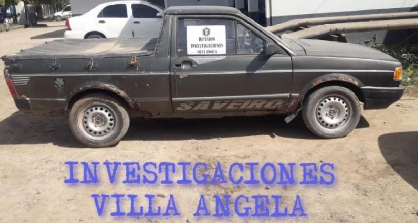 VILLA ÁNGELA: RECUPERAN UNA CAMIONETA DENUNCIADA EN SAENZ PEÑA EN EL AÑO 2017