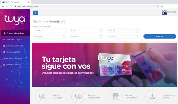Tarjeta Tuya: consulta las promociones especiales en la web