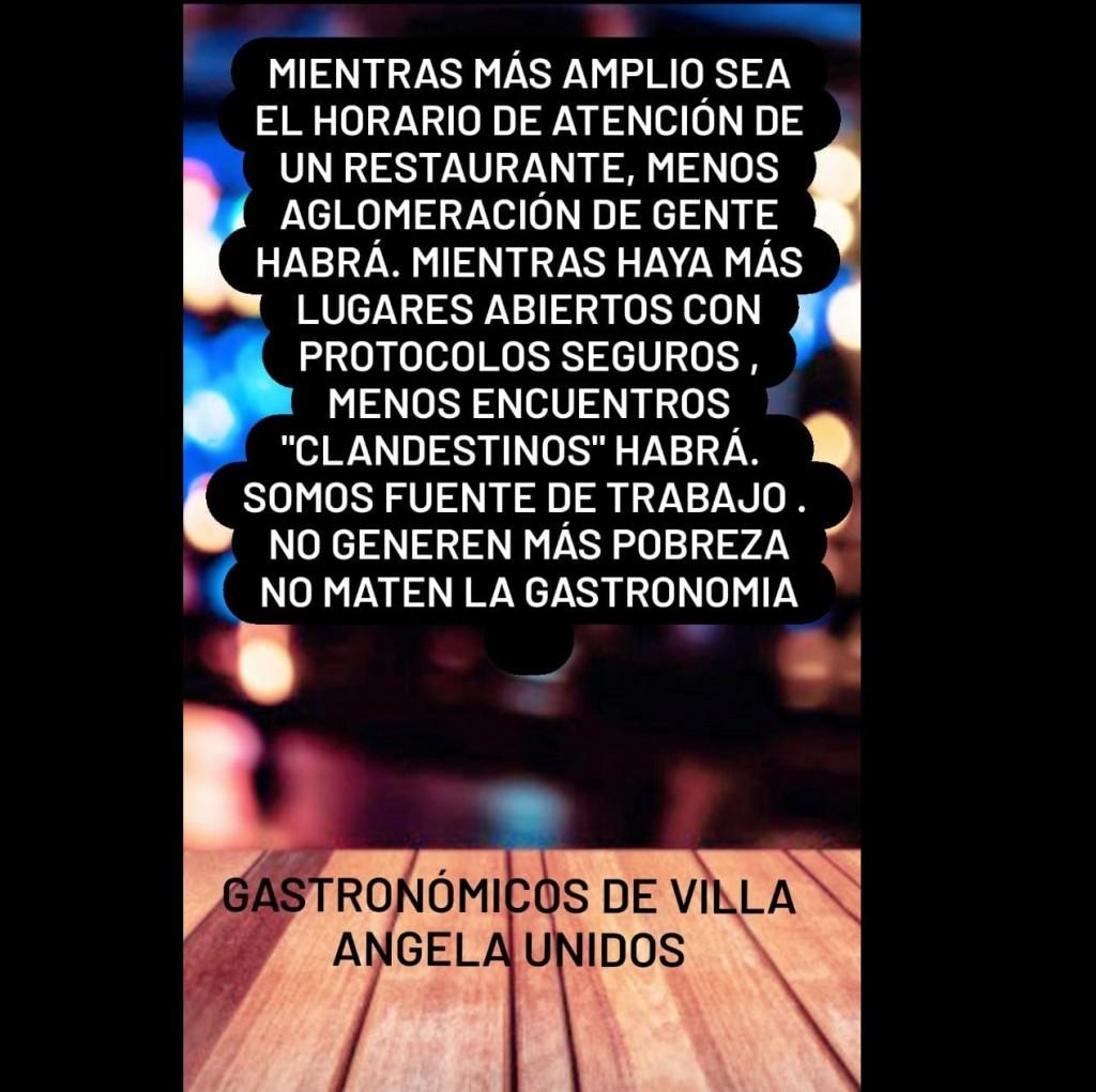 Villa Ángela: SILVIA PORRO RESPECTO A LAS NUEVAS RESTRICCIONES:
