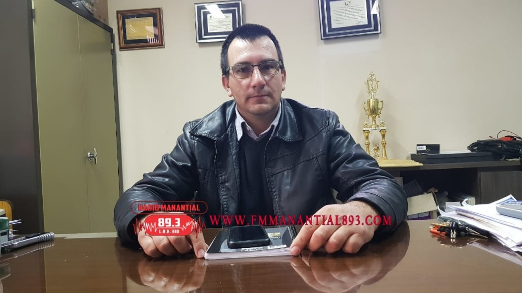Villa Ángela: Sergio Andrik se refirió al buen acatamiento de Cierre de Comercios el Día Domingo e Informó sobre el desarrollo de la Vida Institucional del C.E.C