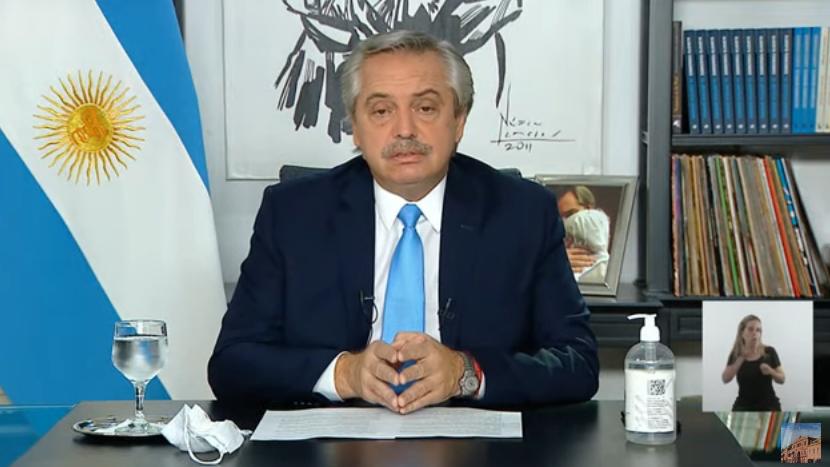 Alberto Fernández anunció restricciones para el AMBA pero cada provincia puede adherir