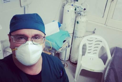 """El doctor Picón, tras las declaraciones de Fernández: """"Lo que no da más es la tolerancia del personal de salud"""""""