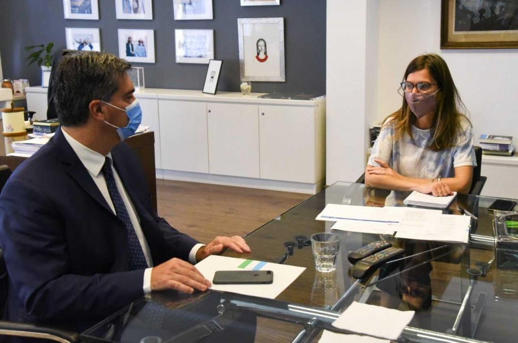 Capitanich y Raverta desarrollaron agenda de trabajo y la posible visita de la directora de la Anses al Chaco