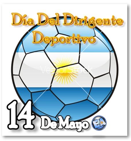 14 DE MAYO DIA DEL DIRIGENTE DEPORTIVO
