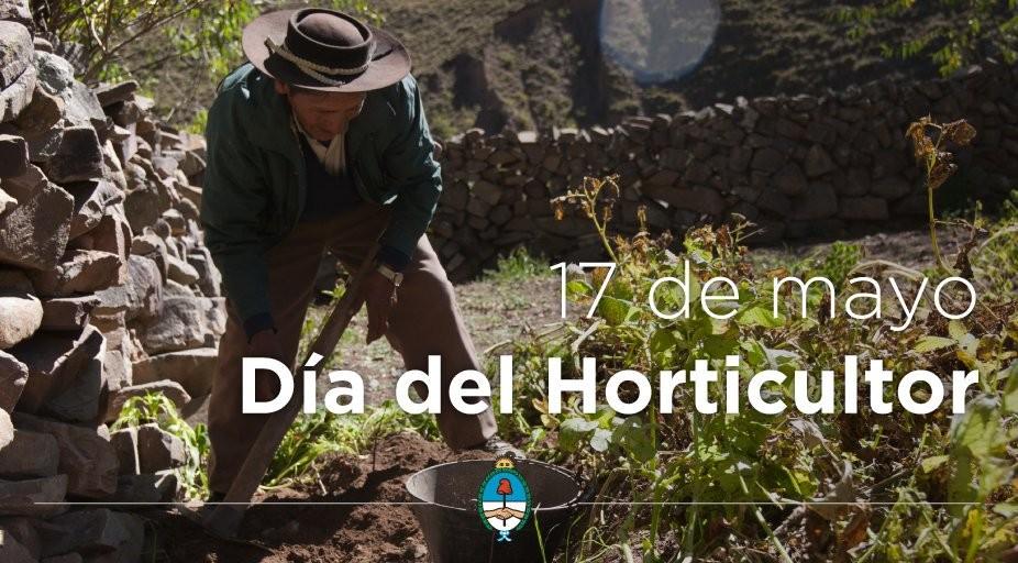 17 DE MAYO DIA DEL HORTICULTOR.