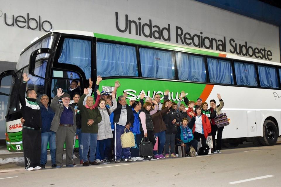 Con Apoyo del Gobierno Provincial – Adultos Mayores de Villa Ángela participan de un Jornada de Entrenamiento de los Juegos Evita en Campo Largo