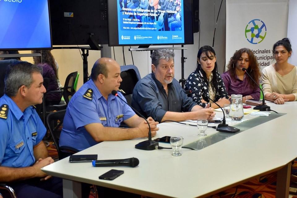 En el SUM de la URS – Se desarrolló con éxito la Reunión de los Foros Vecinales y Rurales de Villa Ángela