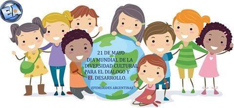 21 DE MAYO DIA MUNDIAL DE LA DIVERSIDAD CULTURAL PARA EL DIALOGO Y EL DESARROLLO