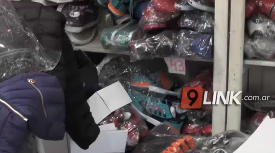 Sáenz Peña: Gendarmería donó mercadería ilegal a la población afectada por las inundaciones