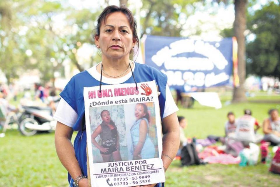 VILLA ANGELA: LA MAMÁ DE MAIRA BENITEZ DIJO QUE SEGUIRÁ LUCHANDO HASTA SABER LA VERDAD DE LO QUE PASÓ CON SU HIJA