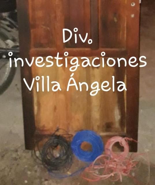 Villa Ángela: Recuperan una puerta de algarrobo robada