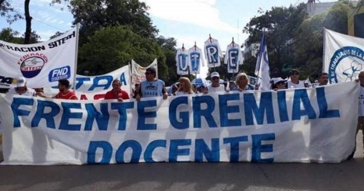 """El Frente Gremial Docente anticipa un """"paro virtual"""" ante la falta de fechas para el pago de la cláusula gatillo"""