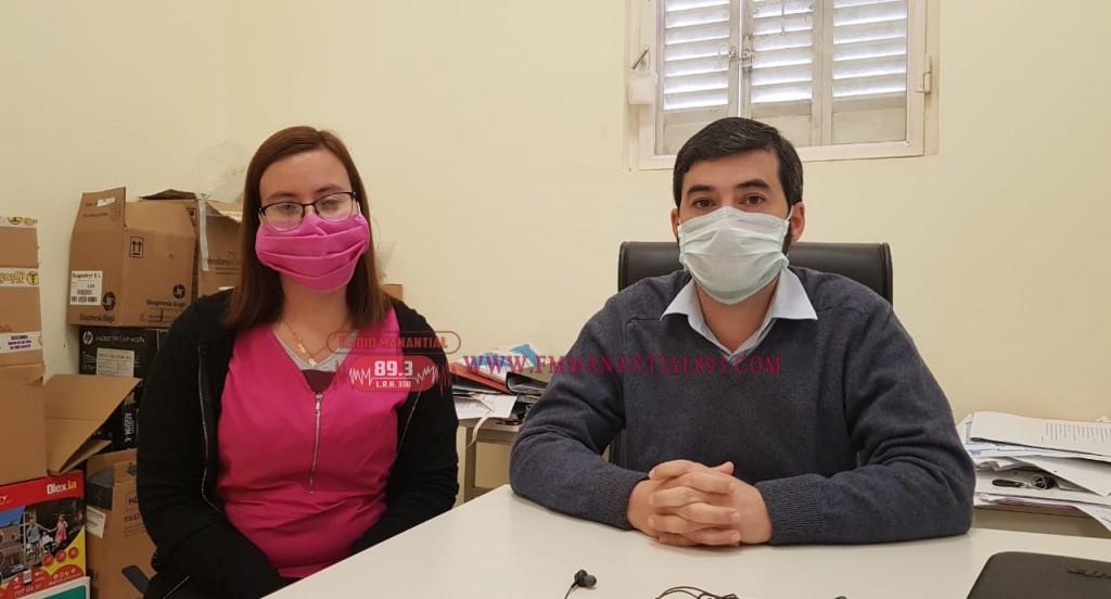 Villa Ángela: Dra. VICTORIA BRITEZ: ''los que tomamos decisiones para el hospital somos nosotros'', ACLARÓ JUNTO AL DIRECTOR SIMÓN BALI