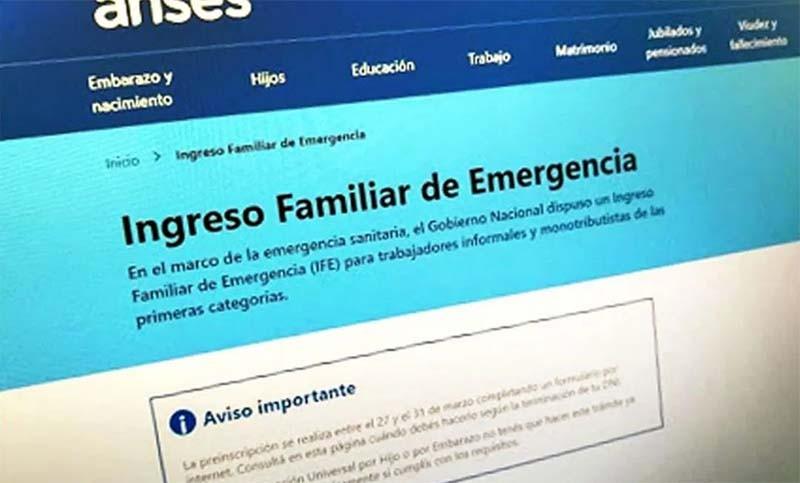 Hoy finaliza el pago del IFE en Chaco