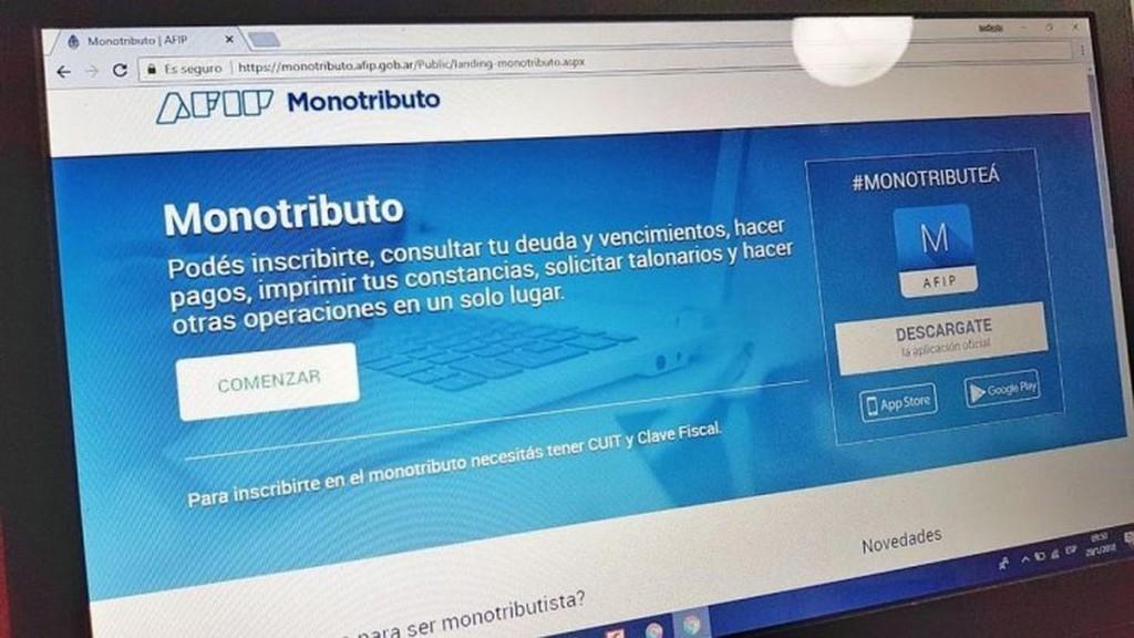 AFIP: los monotributistas no serán dados de baja por falta de pago