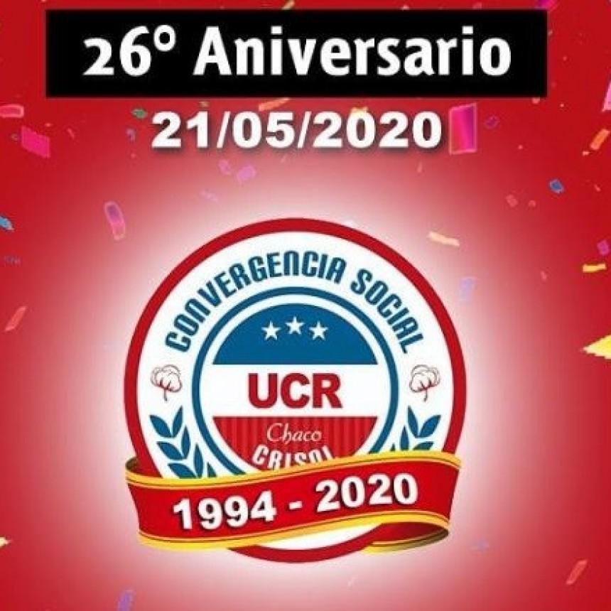 21 DE MAYO SE CONMEMORA EL 26° ANIVERSARIO DE CONVERGENCIA SOCIAL