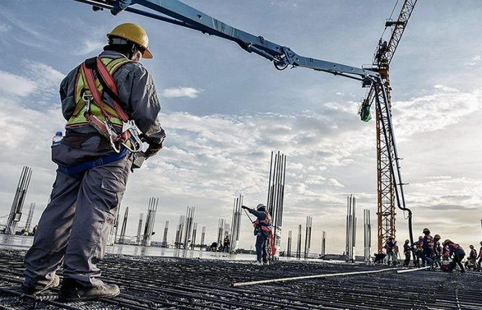 La construcción acumuló una expansión del 42,4% en el primer trimestre del año