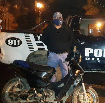 Sáenz Peña: Intentaba robar una moto pero fue descubierto y atacó a la Policía