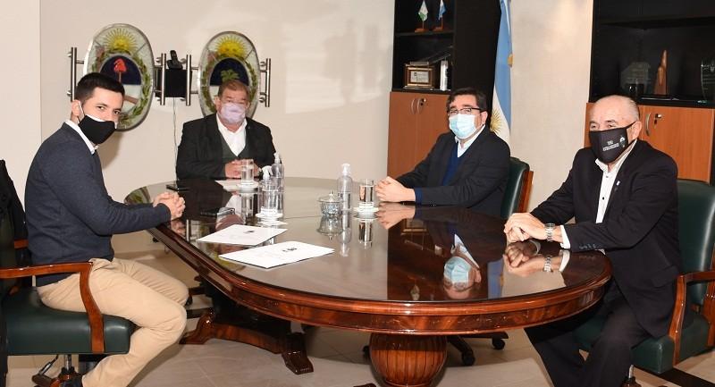 Bruno Cipolini se reunió con el presidente del STJ para tratar la inseguridad de Sáenz Peña
