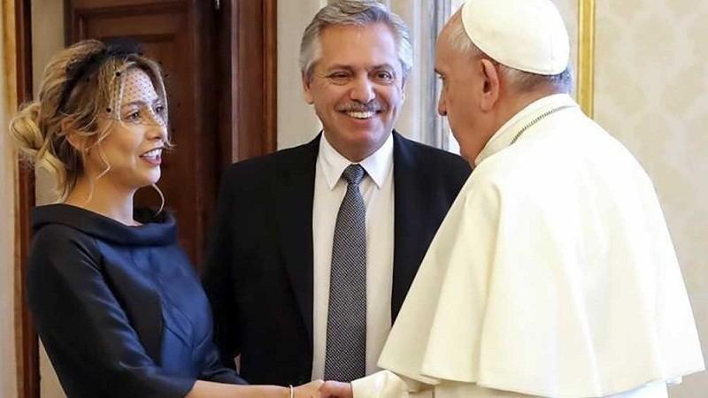 VIAJE PRESIDENCIAL: Alberto Fernández arribó a Roma para concluir con su gira europea