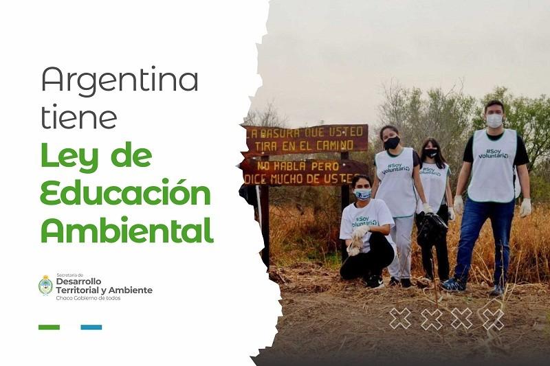 CHACO CELEBRA LA SANCIÓN NACIONAL: Uno a uno, los objetivos que promoverá la Ley de Educación Ambiental Integral