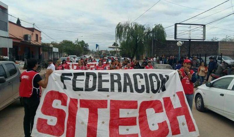 Federación Sitech convocó a un paro con concentración para la próxima semana