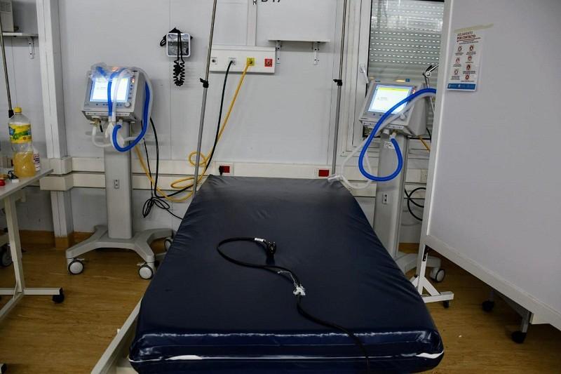 Agregan camas de terapia y duplican la capacidad de asistencia respiratoria en el Hospital Modular