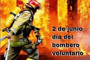 2 de Junio Día del Bombero