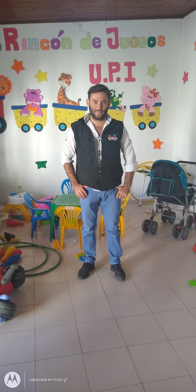 Matías Hlavac: Coordinador de La Unidad de Protección Integral, (UPI) Línea 102 , Denuncias