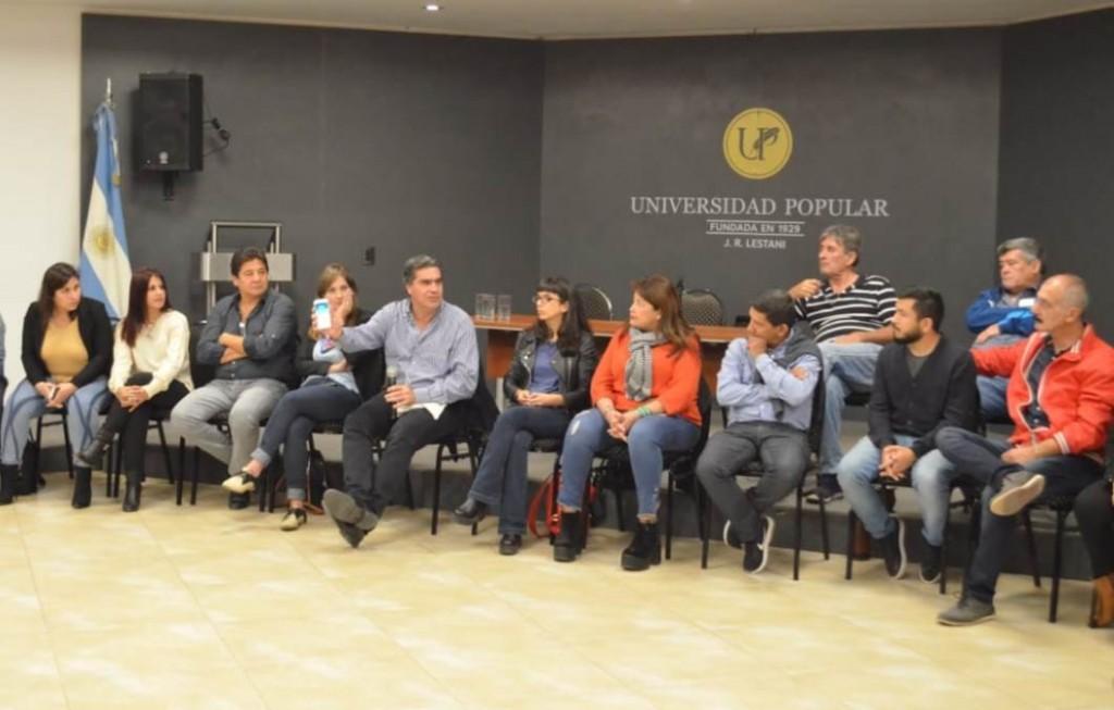 Capitanich explicó a legislativos sobre la reforma constitucional